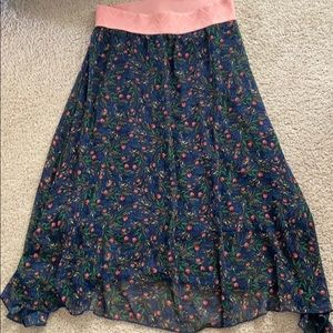 Lularoe Lola Skirt Xs